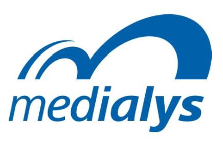 Logo MEDIALYS BLANC